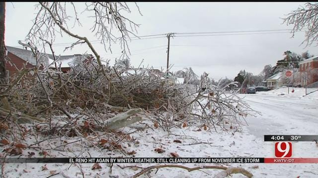 Second Major Winter Storm Leaves El Reno Residents With More To Clean Up