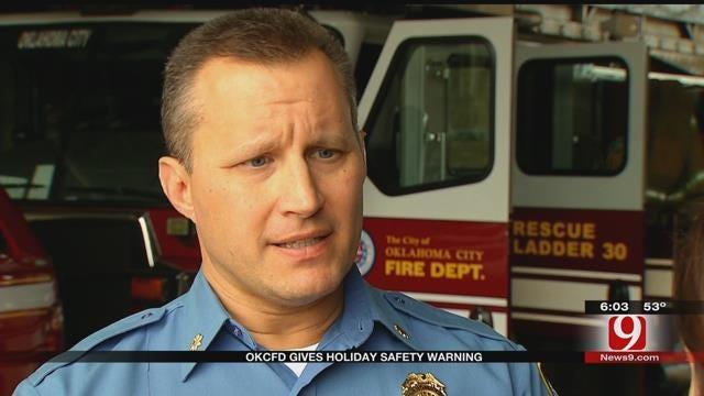 OKCFD Gives Holiday Safety Warning