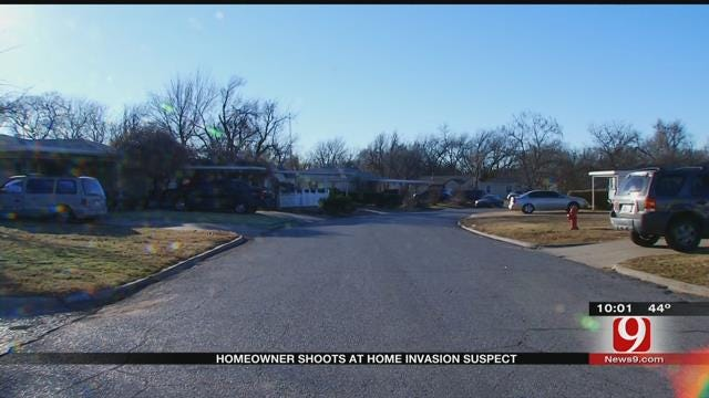 Homeowner Shoots Home Invasion Suspect In SW OKC