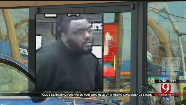 OKC Police Look For Man Who Robbed 7-Eleven Store With Gun