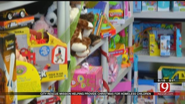 City Rescue Mission Helping Provide Christmas For Homeless Children