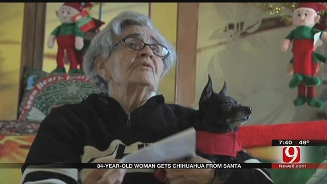 84-Year-Old Gets Christmas Wish