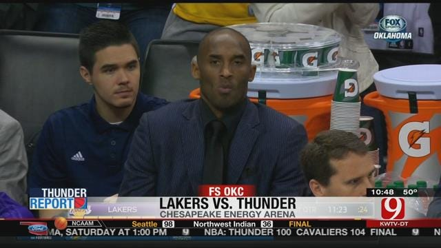 Thunder Wipe Out Lakers