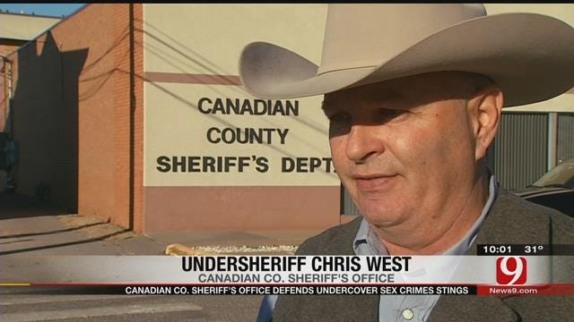 Canadian Co. Sheriff's Office Defends Undercover Sex Crimes Stings