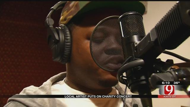 OKC Rap Artist Holds Free Concert To Benefit Others