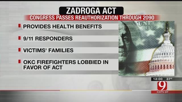 OKC Firefighters Lobby In Favor Of 'Zadroga Act'