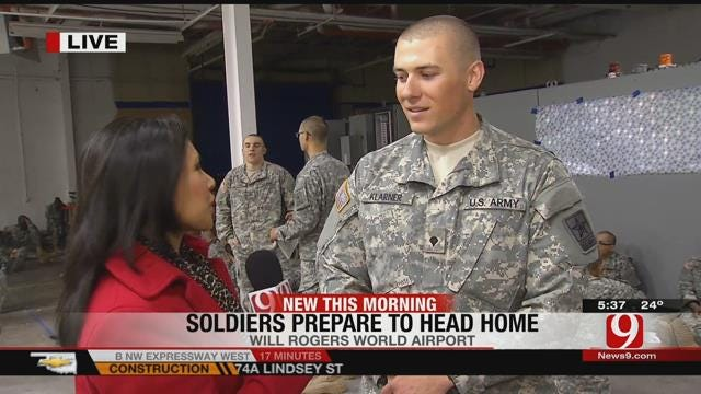 Private Klarner Speaks About Returning Home For The Holidays