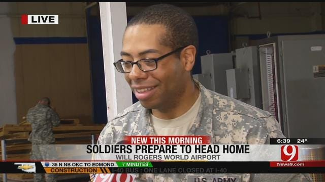 Army Specialist Kaufman Heading Home In Texas