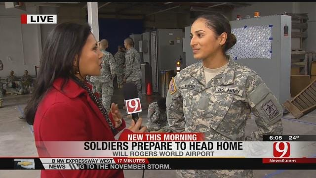 Private Teresa Rangel Heading Home To San Francisco