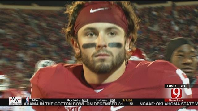 Mayfield Named Sporting News POY
