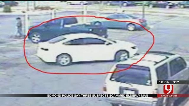 Edmond PD: Suspects Scam Elderly Man Out Of Nearly $10K