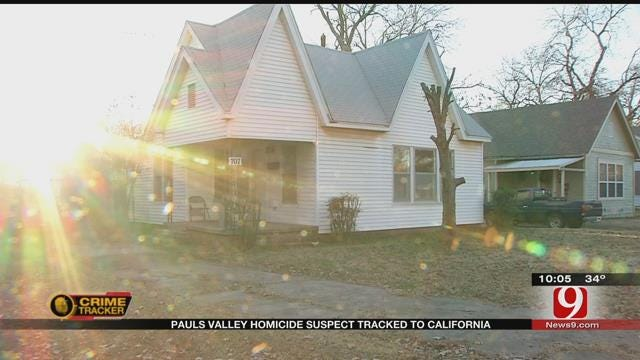 Pauls Valley Homicide Investigation Leads To Suspect In California
