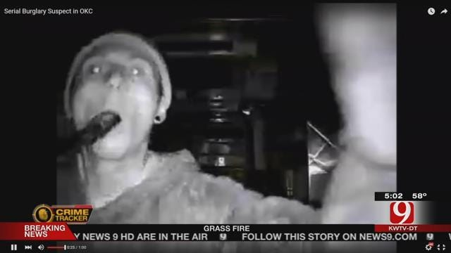 OKC Police Searching For Serial Burglary Suspect