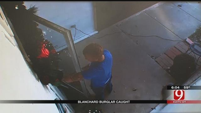 Blanchard Christmas Burglar Caught