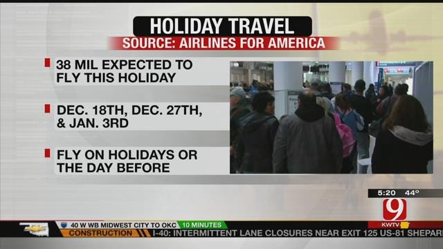 Busiest Days To Travel During The Holidays