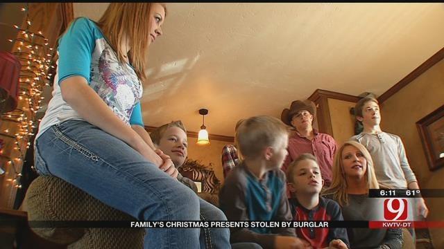 Blanchard Family's Christmas Presents Stolen by Burglar