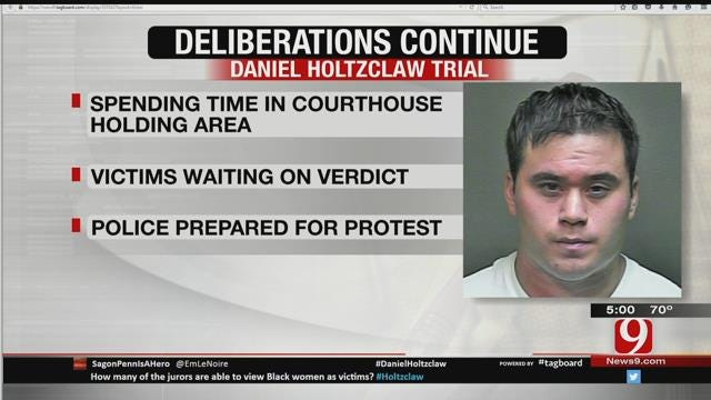 OKC Police: Want 'Order And Peace' When Verdict In Holtzclaw Trial Comes Down