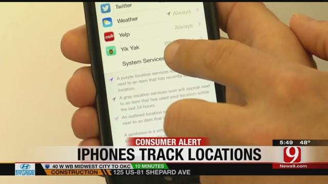iPhone's 'Frequent Locations' Feature Raises Privacy Concerns