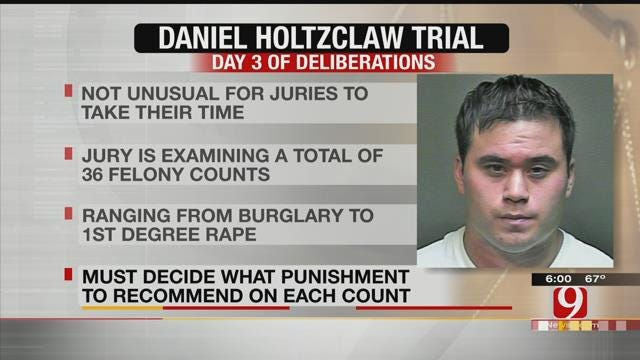 Jurors Continue Third Day Of Deliberations In Daniel Holtzclaw Trial