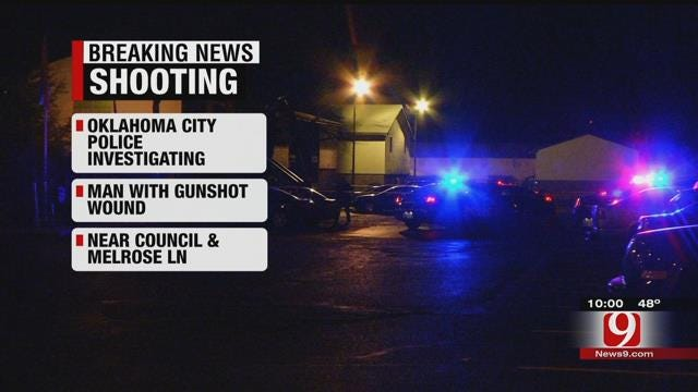 One Shot In NW OKC Apartment Complex