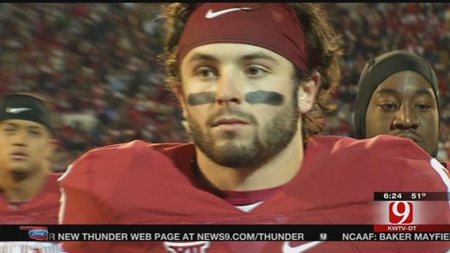 OU's Mayfield Not Among Heisman Finalists