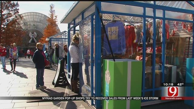 Myriad Garden Pop-Up Shops Try To Recover Sales After Ice Storms