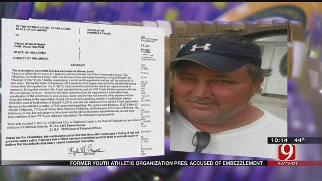 Former Metro Youth Athletic Organization President Accused Of Embezzlement
