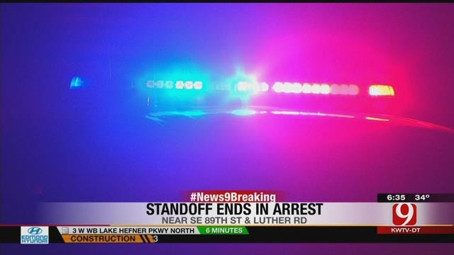 Suspect Surrenders Following Standoff With Police In SE OKC