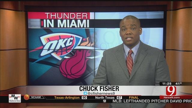 Thunder Report From Miami