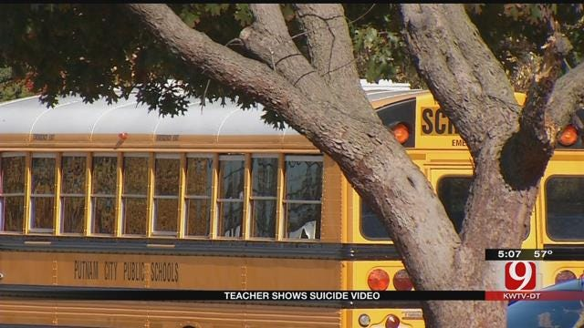 Putnam City Teacher In Hot Water After Showing Students 'Suicide Video'