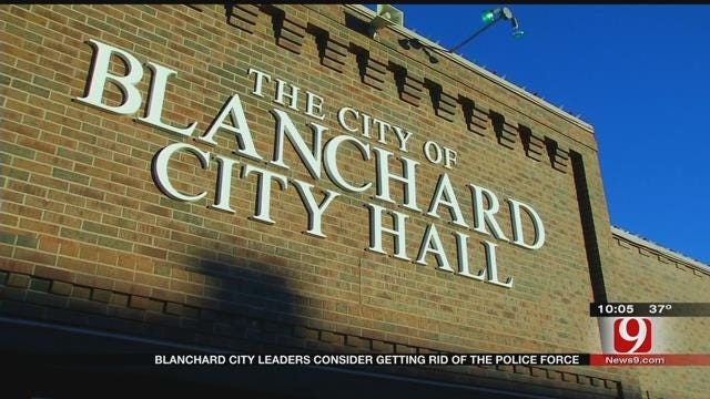 Blanchard City Leaders Consider Getting Rid Of Police Force