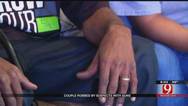OKC Police Searching For Suspects After Couple Ambushed, Robbed At Gunpoint