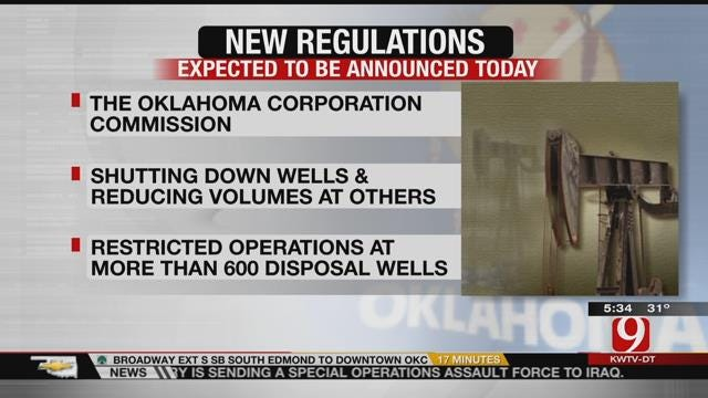 OCC To Announce Major Changes For Oil, Gas Operators