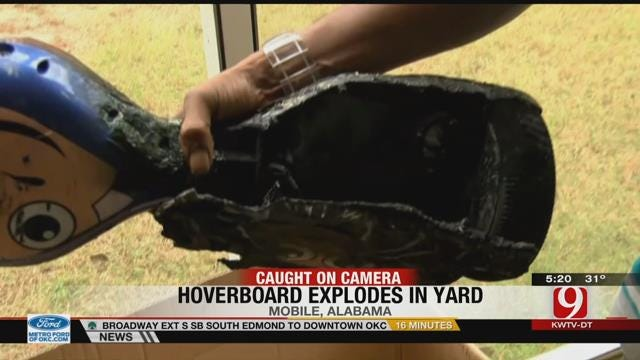 Reports Of Hoverboards Catching Fire Raise Concerns