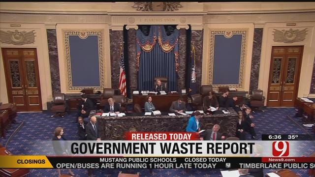 Senator James Lankford To Release 'Waste Book'
