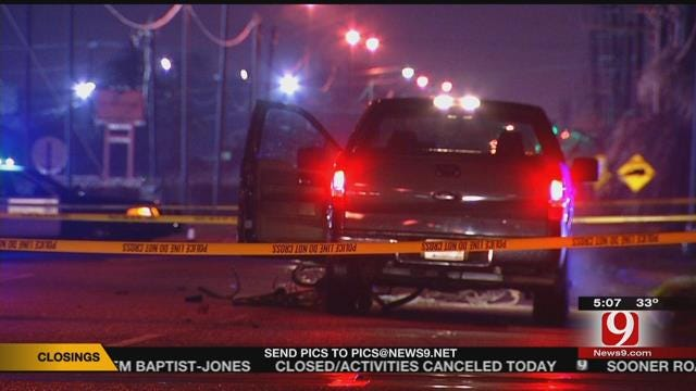 Police Arrest Driver Following Auto-Ped Accident In SW OKC