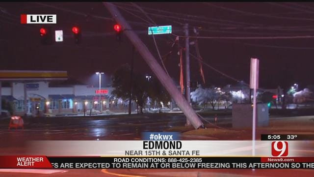 WEB EXTRA: Drivers Urged To Avoid Edmond Intersection