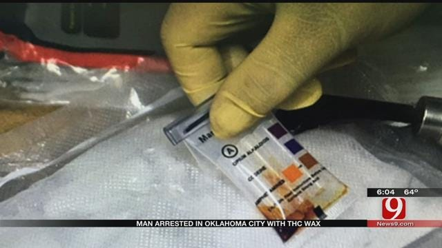 Man Arrested In Oklahoma City With THC Wax