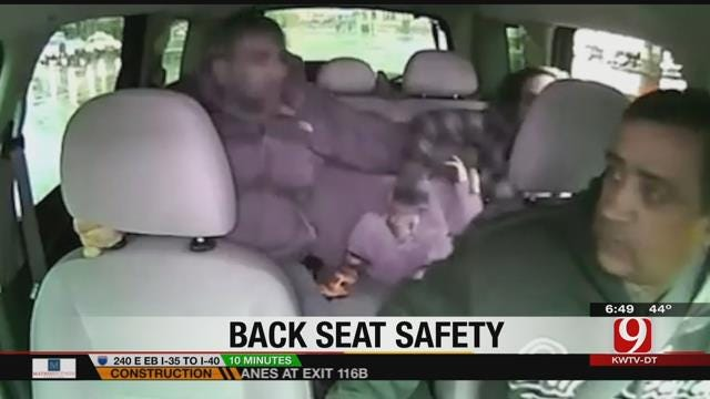 New Emphasis Being Made On Seatbelt Use For Back Seat Passengers
