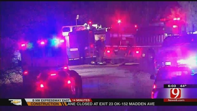 Woman'' Body Discovered After House Fire Call In Cleveland County