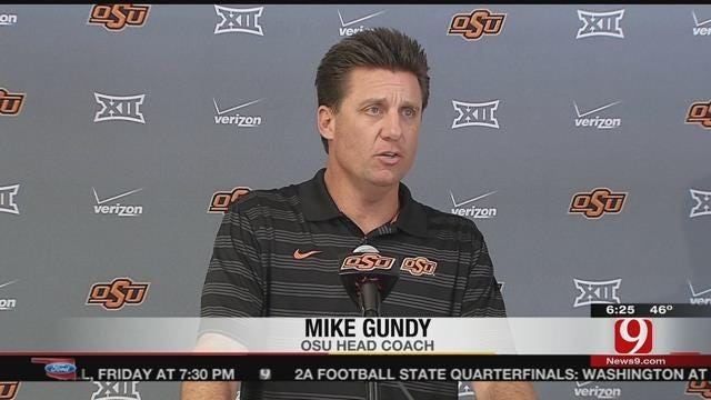 """OSU's Gundy On Baylor Loss: """"We've Put That Game Behind Us"""""""