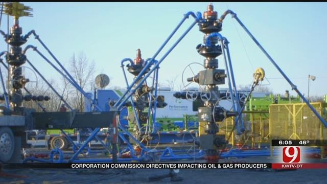 OK Corporation Commission Taking Actions More Often On Disposal Wells