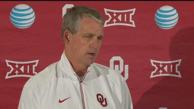 WATCH: OU Trainer Scott Anderson On Mayfield's Concussion Protocol
