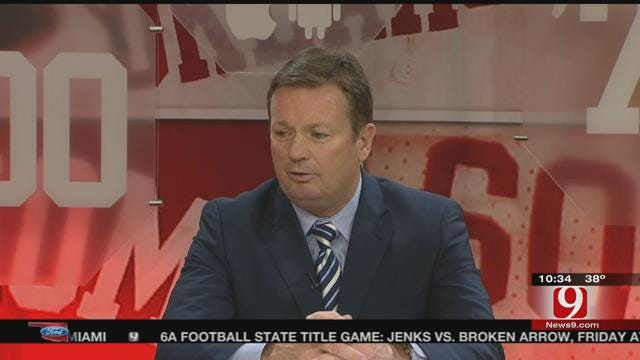 Dean Goes 1-On-1 With Bob Stoops