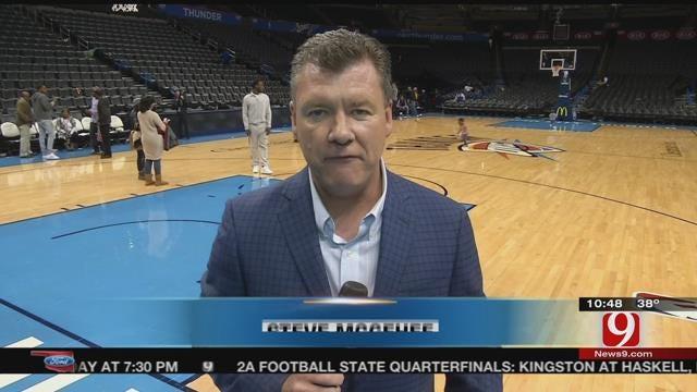 Thunder Report From Steve McGehee