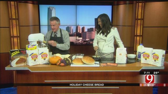Made In Oklahoma: Holiday Cheese Bread