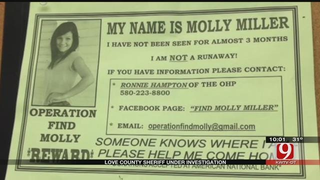 Molly Miller's Family Ask Love Co. Sheriff To Step Down