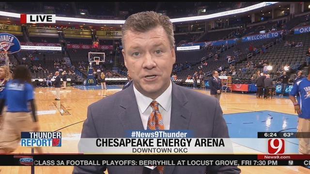 Live Update Before Thunder vs Knicks