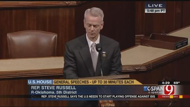 OK Rep. Steve Russell Speaks About Strategy To Stop ISIS
