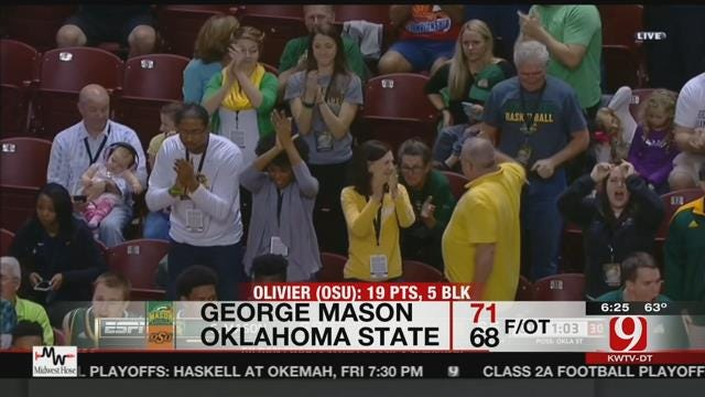 Oklahoma State Men's Hoops Falls To George Mason
